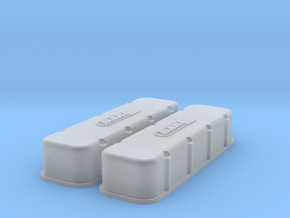 1/18 BBC Dart Logo Valve Covers in Frosted Ultra Detail