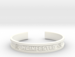 McBracelet (3.8 Inches) Maximum in White Strong & Flexible Polished