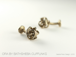 Ora by Bathsheba Cufflinks in Stainless Steel