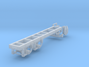 1/87th Basic Truck Frame w air ride in Frosted Ultra Detail