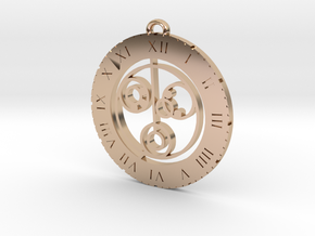 Nicole - Pendant in 14k Rose Gold Plated