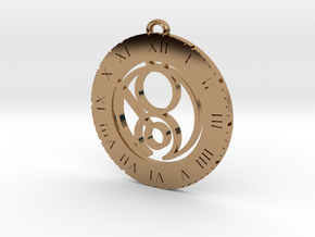 Gina - Pendant in Polished Brass