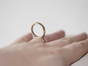 RingRing, Size US5 in Stainless Steel