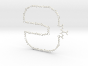 Nitroglycerin Necklace in White Strong & Flexible