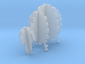 Wooden Sheep A 1:48 in Frosted Ultra Detail
