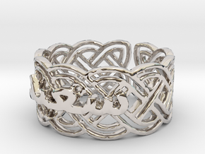 Saeid-size11-5--Rh-1 Ring Size 11.5 in Rhodium Plated