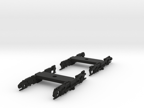 N Scale Trucks for R32 Subway Car 1pr in Black Strong & Flexible