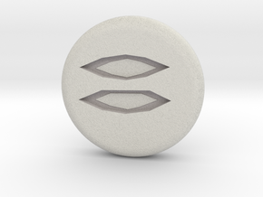 Runescape: Mist Rune in Full Color Sandstone