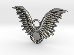 Wings in Polished Silver