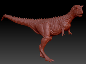 1/40 Carnotaurus - Standing in White Strong & Flexible