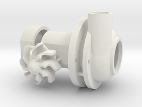 Turbo Spool - Set Elc plastic in White Strong & Flexible