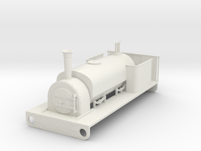 16mm scale Hunslet  quarry saddle tank in White Strong & Flexible
