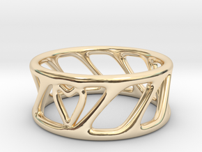 Cool Ring Two in 14K Gold