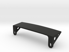 AJ30004 Body Mount ONLY (SCX10) in Black Strong & Flexible