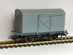 LMS Diagram 1828 Steel Bodied Van Doors ONLY in Frosted Ultra Detail