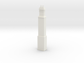 HO Scale Liverpool Station Chimney in White Strong & Flexible