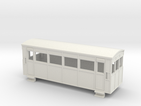 009 Drewry 4w railcar in White Strong & Flexible