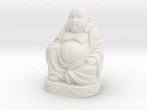 Buddha Statue - Antiques in White Strong & Flexible