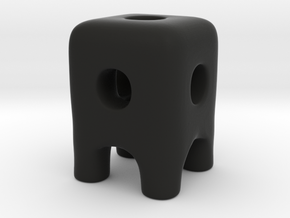 Tiny Wireframe Ugly Friend in Black Strong & Flexible