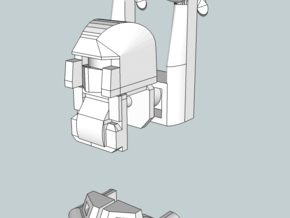 Hoverbot (solid) in White Strong & Flexible