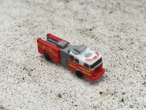 Seagrave Squad 1:285 scale in White Strong & Flexible