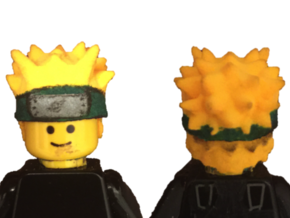 Custom Naruto Kyuubi Inspired Lego in White Strong & Flexible