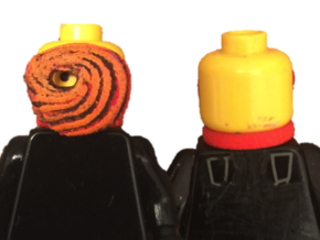 Custom Tobi Inspired Lego in White Strong & Flexible