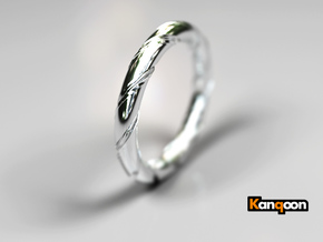 Bernd - Ring - US 7¼ - 17.5mm inside diameter in Polished Silver