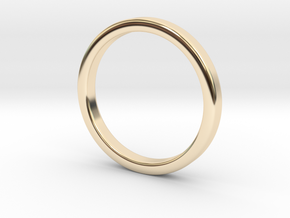 Ring for Ed - Size 12 (3mm wide, 2mm Thick) in 14K Gold