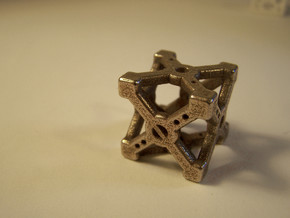Cross D6 Die in Stainless Steel