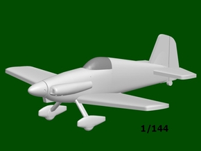 Midget Mustang #9, scale 1/144 in Frosted Ultra Detail