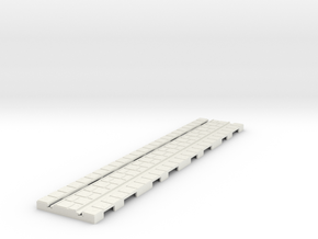 P-165stg-long-straight-tram-track-100-big-6a in White Strong & Flexible