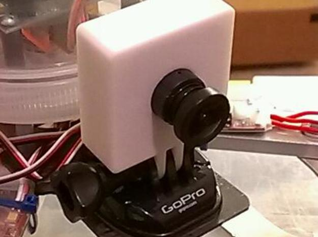 board camera housing 3d printed Camera housing in GoPro mount on a quadcopter