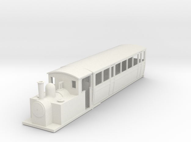 009 steam railcar Coach Body