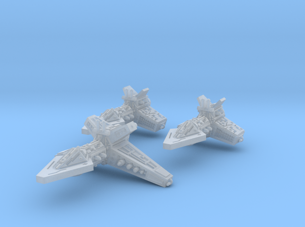 VA200A Light Cruiser Squadron Pack 3d printed