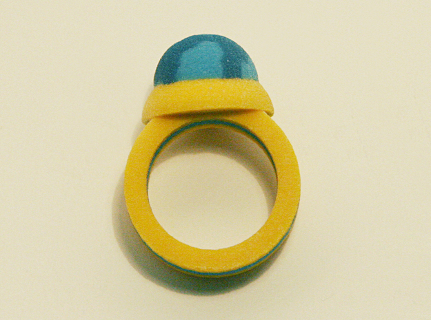 Zelda Fan Art: TLoZ: Blue Ring 3d printed