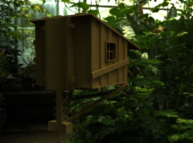Treehouse 3d printed