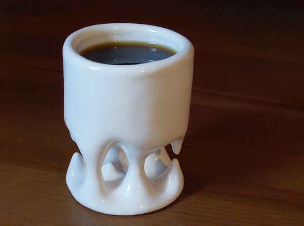 Cave Cup 3d printed