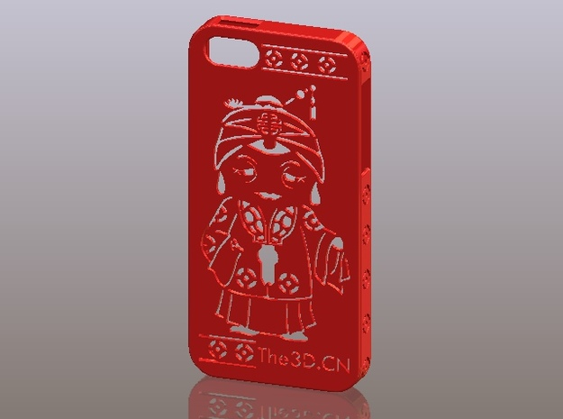 iPhone5_The Chinese Style--Traditional Opera 08 3d printed