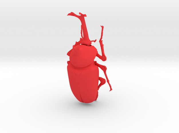 Articulated Rhino Beetle (Allomyrina dichotoma) 3d printed