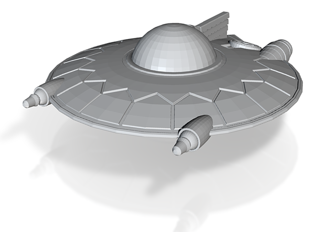 Selenite Violator Saucer 3d printed