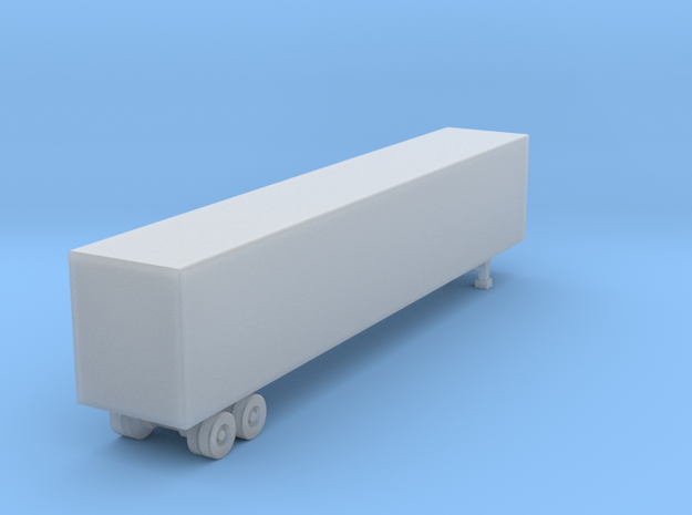 53 Foot Box Trailer - Z scale 3d printed