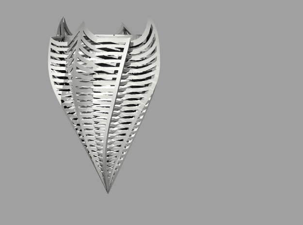 Dortone David 497 Zcorp Plaster Lamp2 3d printed