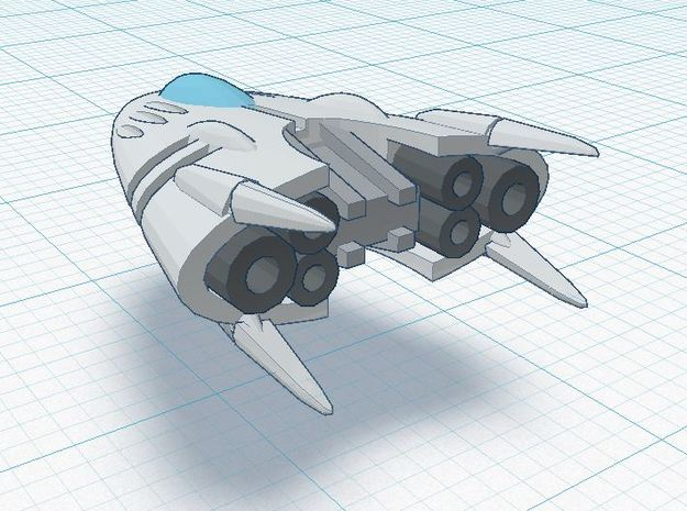 Slipstream II-A 3d printed XIA Tier 2 spacecraft REGULATION XIA SPEC