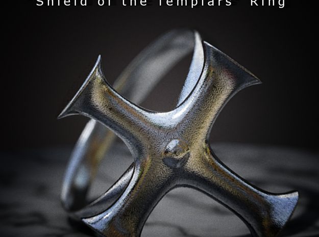 Shield of the Templars Ring