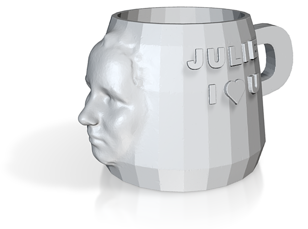 Cup with Face 2 3d printed