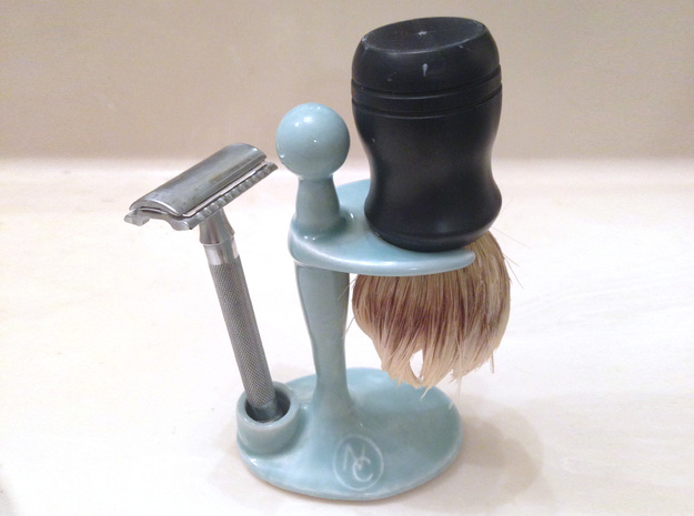 Combo Razor and Brush Stand