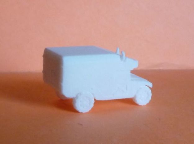 1/144 Humvee Ambulance (Single Pack) 3d printed