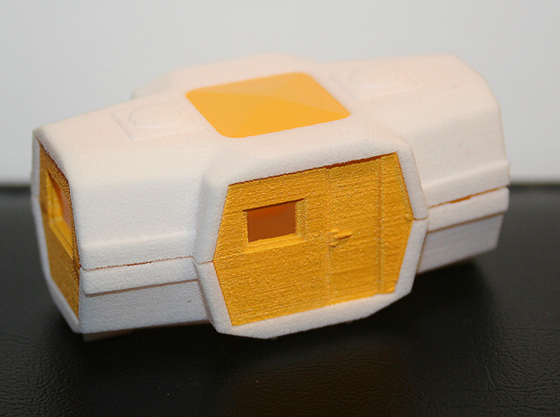 Majorette 223, V2.3 Walls 3d printed Monted on the shells