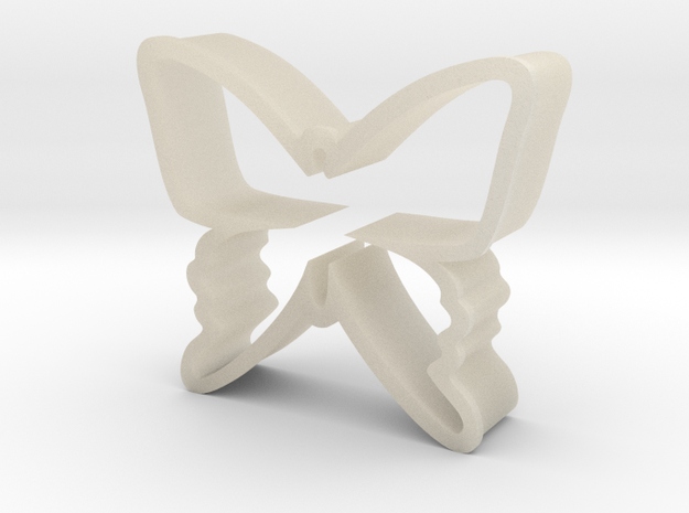 Butterfy Cookie Cutter 3d printed